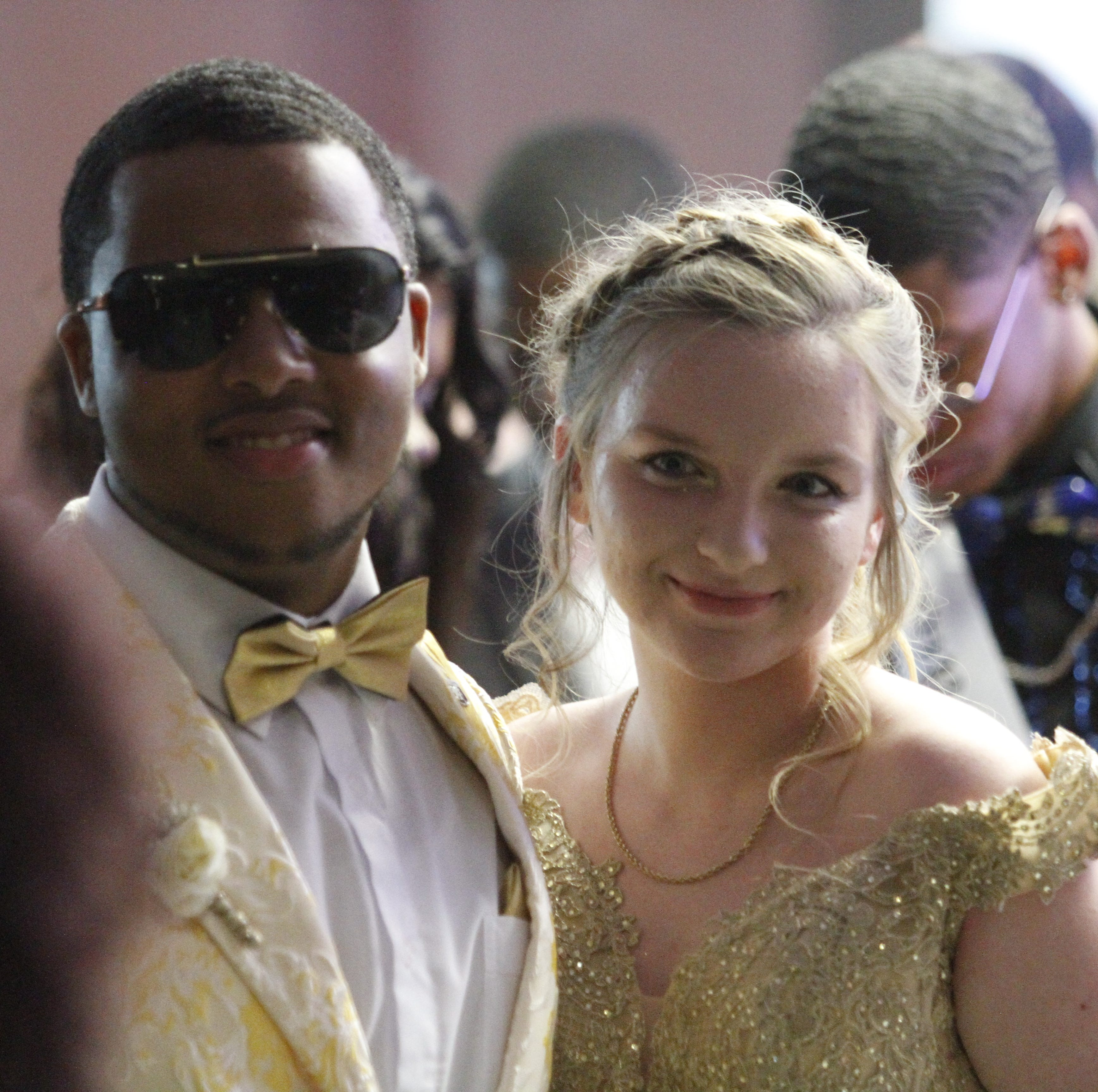 Northwest High walks the red carpet prior to 2019 prom