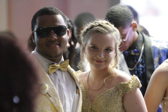 Northwest High School students walked the red carpet at Prom on Saturday, May 18, 2019.