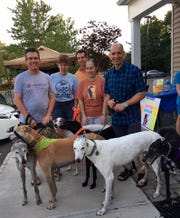 New Jersey Greyhound Adoption Program (NJGAP) will host a Meet & Greet at Lone Eagle Brewing, 44 Stangl Road, Flemington, on Saturday, May 25, from 5:30 to 7 p.m.