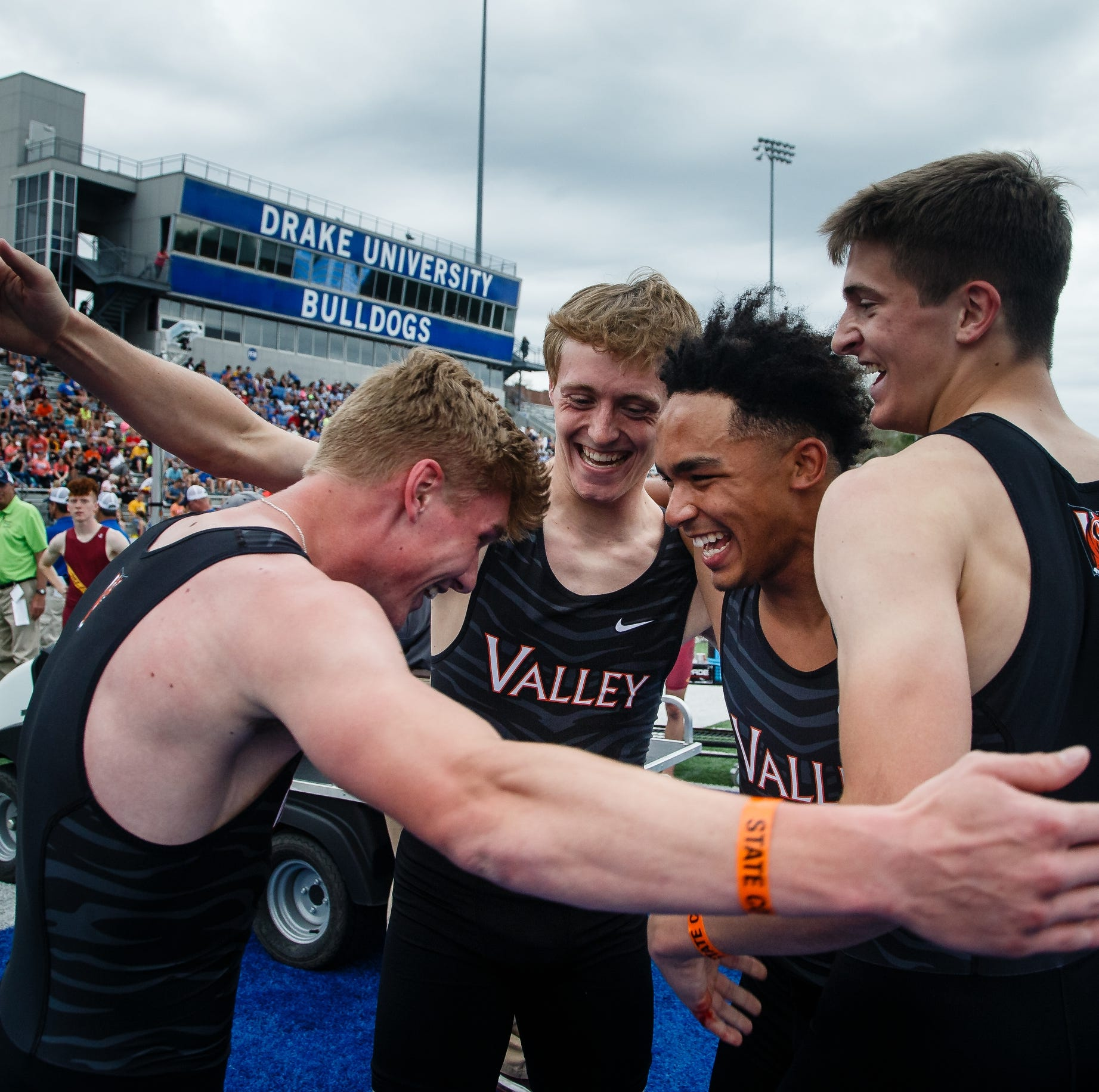 State track: West Des Moines Valley boys win third-straight Class 4A team title