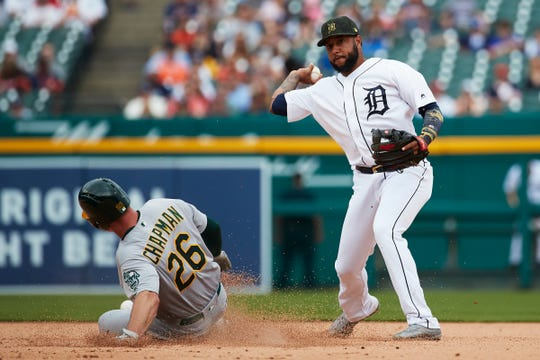 Detroit Tigers-Oakland A's suspended until September, with A's up 5-3