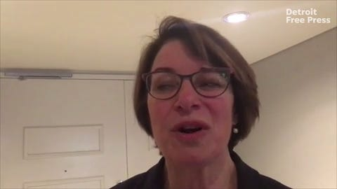 U.S. Sen. Amy Klobuchar, D-Mnnesota, was the latest Democratic candidate for President to bring their campaign to Michigan, a key battleground state in 2020.