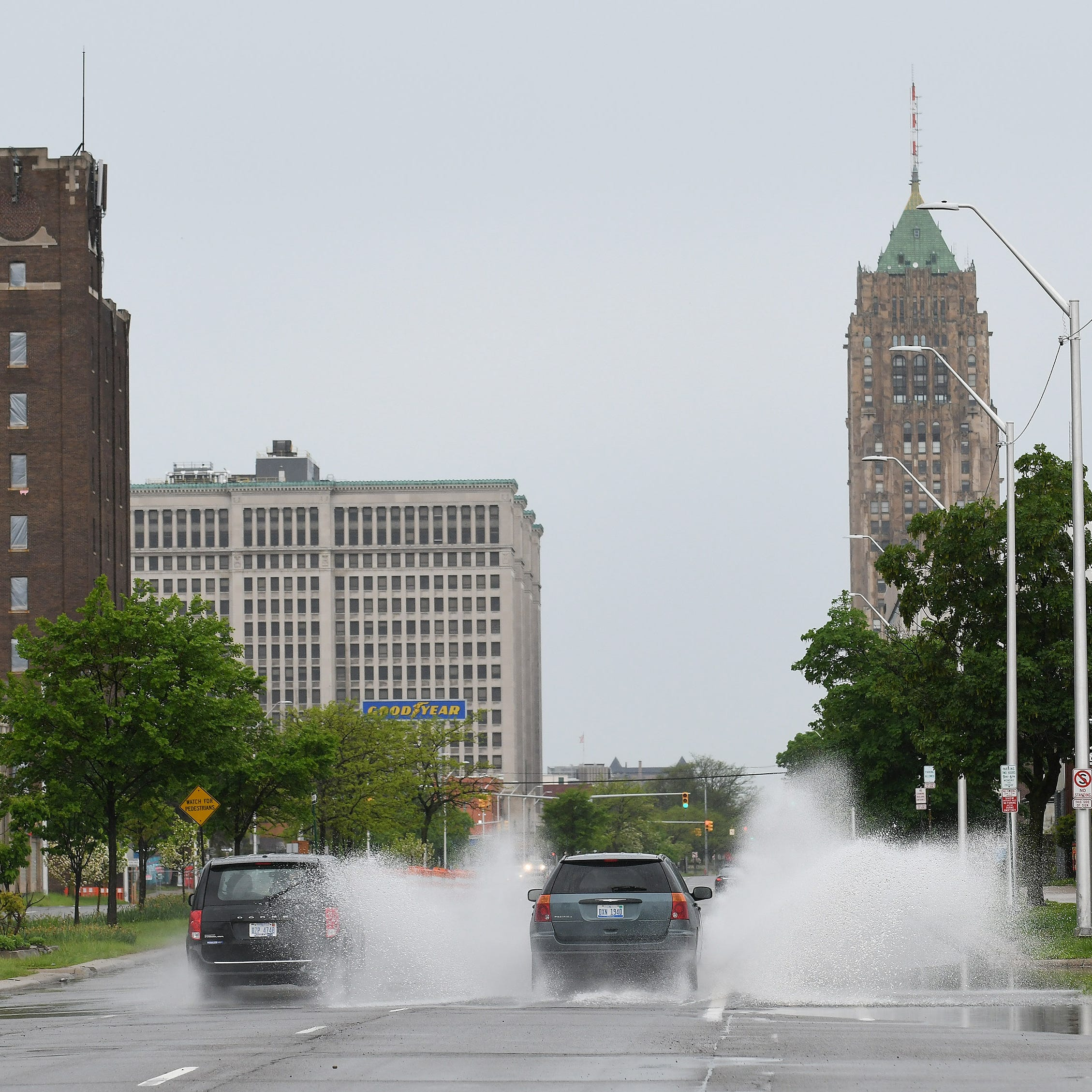 Storms trigger warnings in parts of Michigan