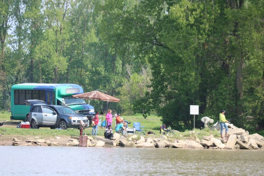 """The Ohio Department of Natural Resources in collaboration with both county and city officials opened Fremont's first public boat ramp on the Sandusky River offered by ODNR, which is being called """"Darr-Root Fishing Access."""""""