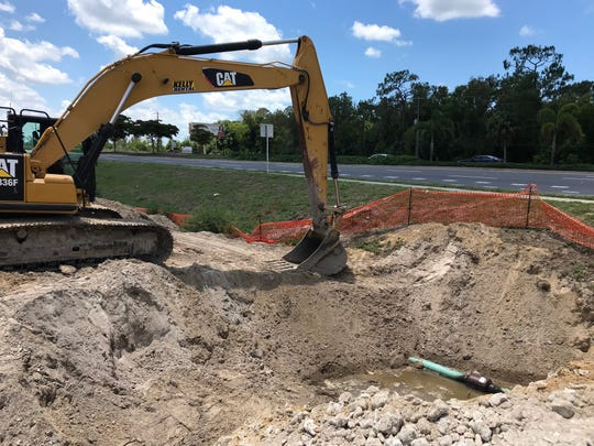 Repairs made overnight to a breached natural gas line forced about a dozen businesses to their lose gas supply. A Teco spokesman said all businesses should have been reconnected Sunday.