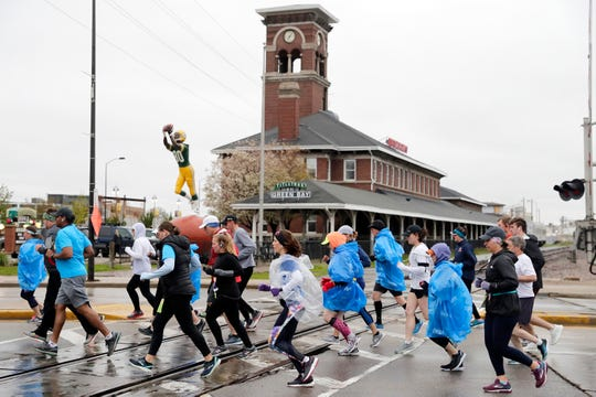 Titletown Brewing Co. announced Sunday it would close its restaurant in the historic Chicago & Northwestern depot building and move food service into its taproom. The historic train depot, seen here during the 2019 Cellcom Green Bay Half Marathon, was built in 1898 and has been home to the craft brewery since 1996.