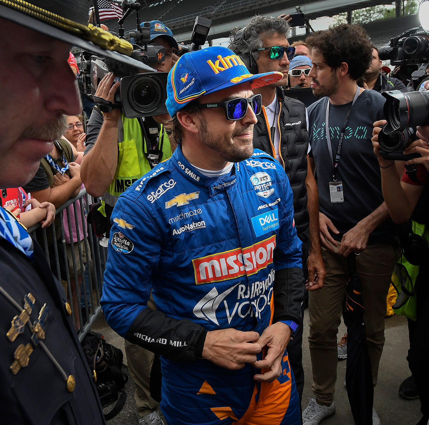 Doyel: Fernando Alonso out of 2019 Indy 500 because McLaren wasn't prepared