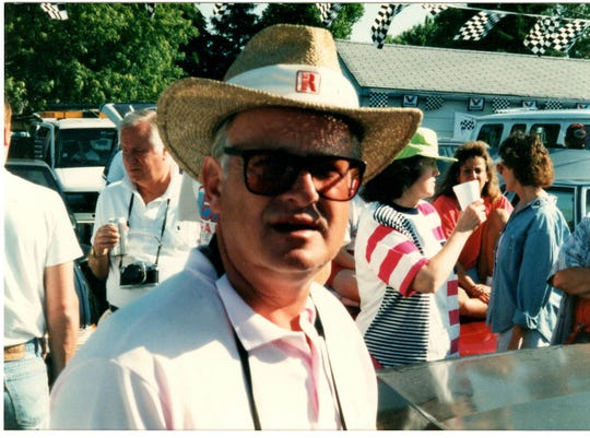 Scott McAtee at Indianapolis 500 in 1994.