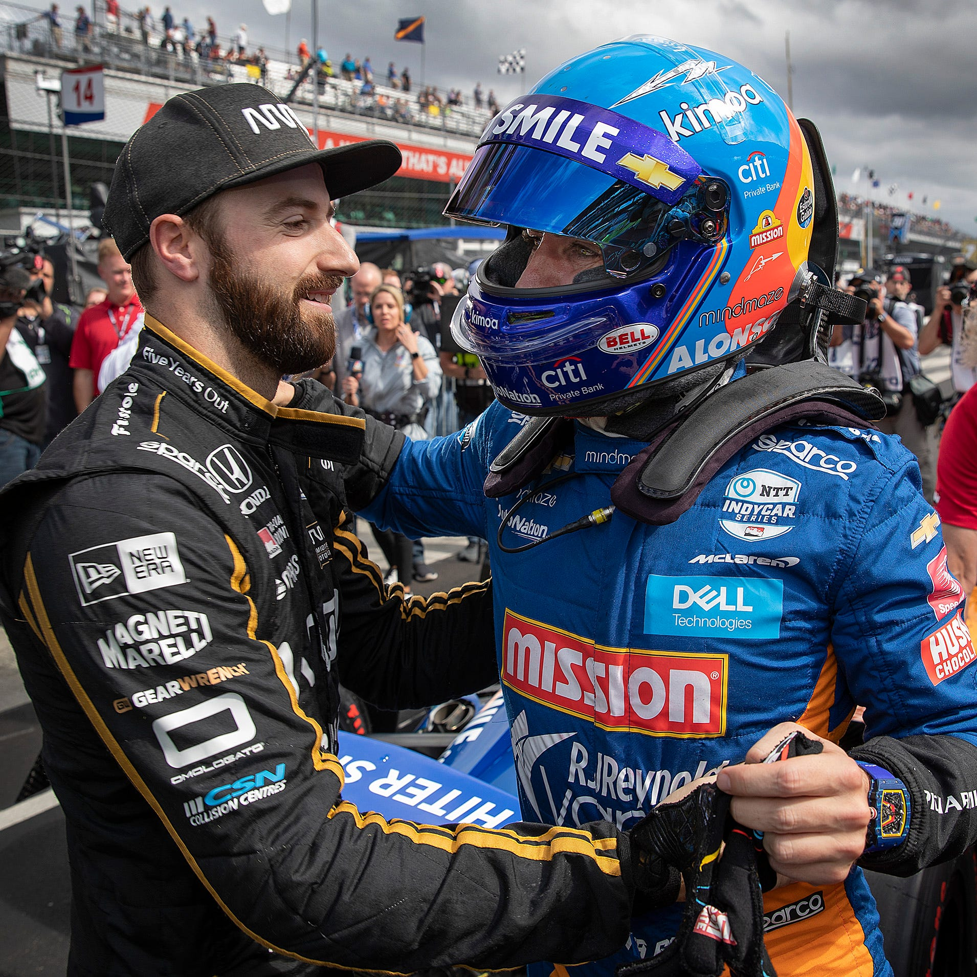 Insider: James Hinchcliffe shuns redemption tale as he puts 'Franken-car' into Indy 500