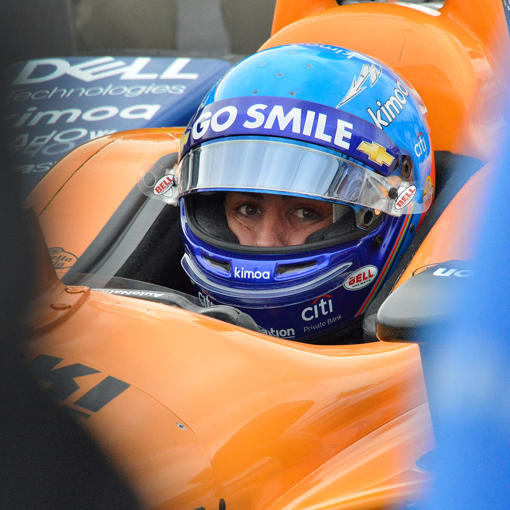 Fernando Alonso bumped from Indy 500 by Kyle Kaiser. Twitter is shocked.
