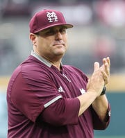 Mississippi State head coach Chris Lemonis is not a stranger to Omaha. He went to the College World Series three times as an assistant at Louisville.