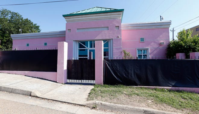 This Friday, May 17, 2019 photo shows the Jackson Women's Health Organization in Jackson, Miss. The facility is the state's only abortion clinic. (AP Photo/Rogelio V. Solis)