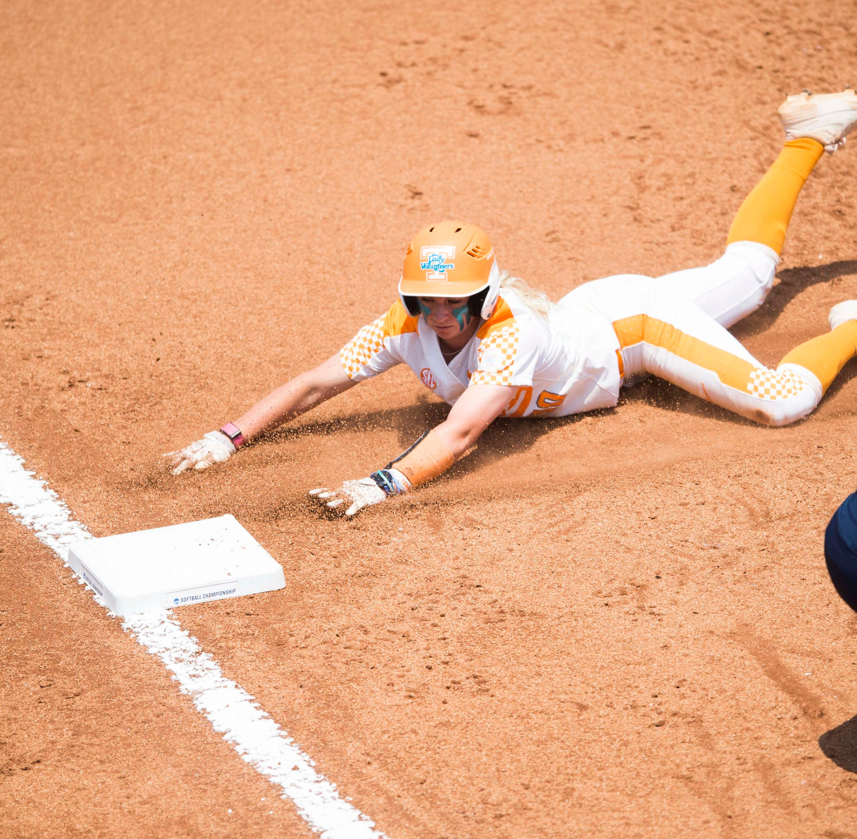 Lady Vols softball advances to Super Regional on Ashley Morgan's clutch double