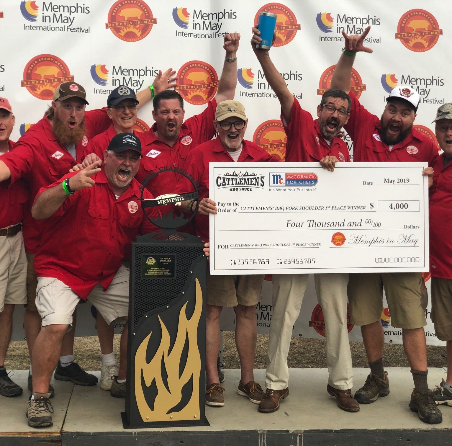 Memphis in May: Meet the winners of the 2019 World Championship Barbecue Cooking Contest