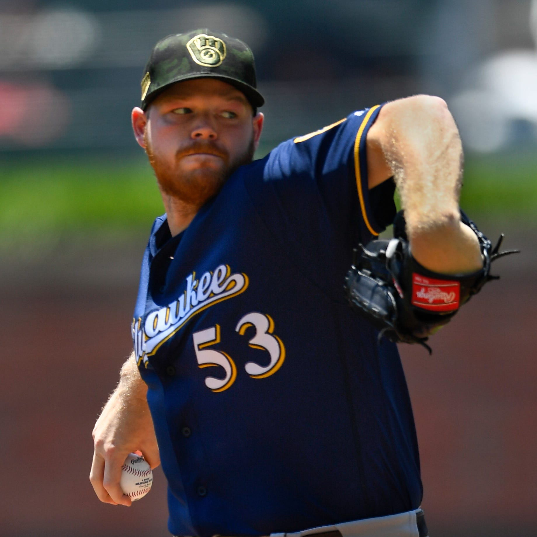 Brandon Woodruff has taken his game to a new level as Brewers' rotation sparkles