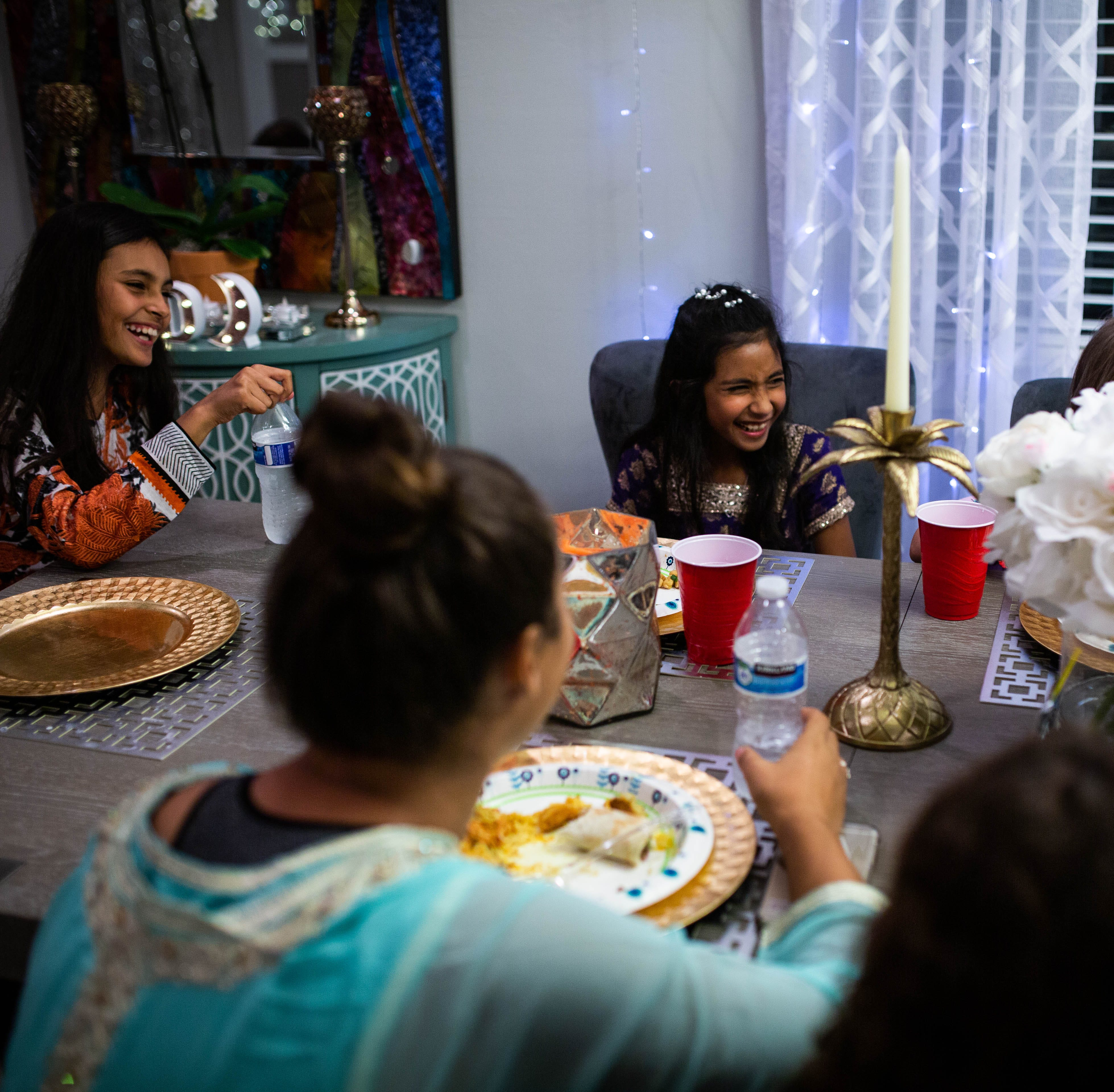 Diverse friends make Naples Ramadan feast an ecumenical party