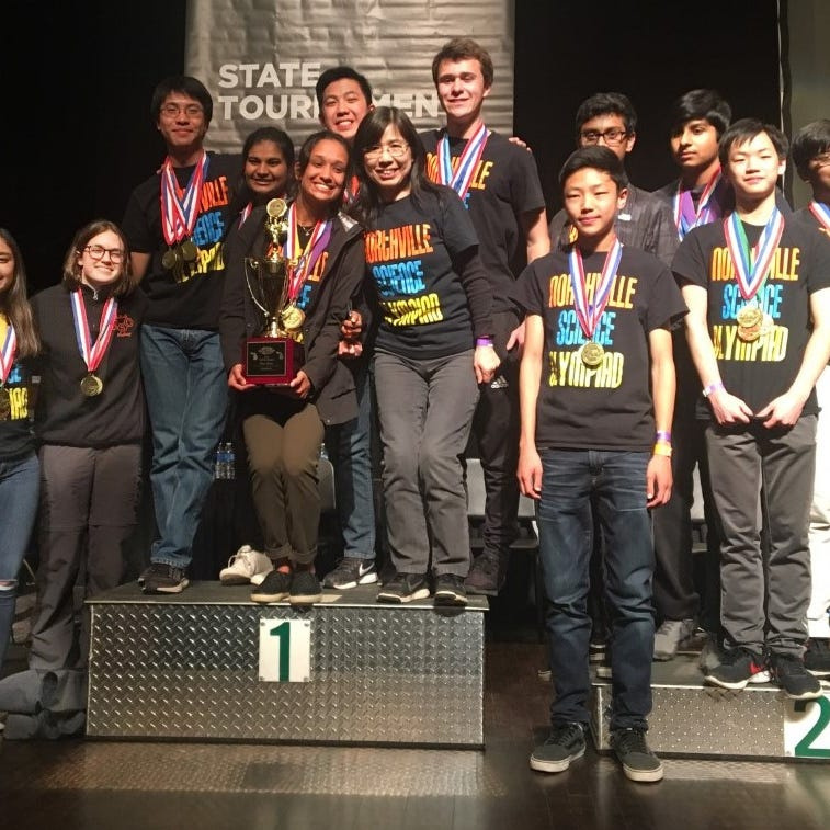 Northville Science Olympiad team secures state championship