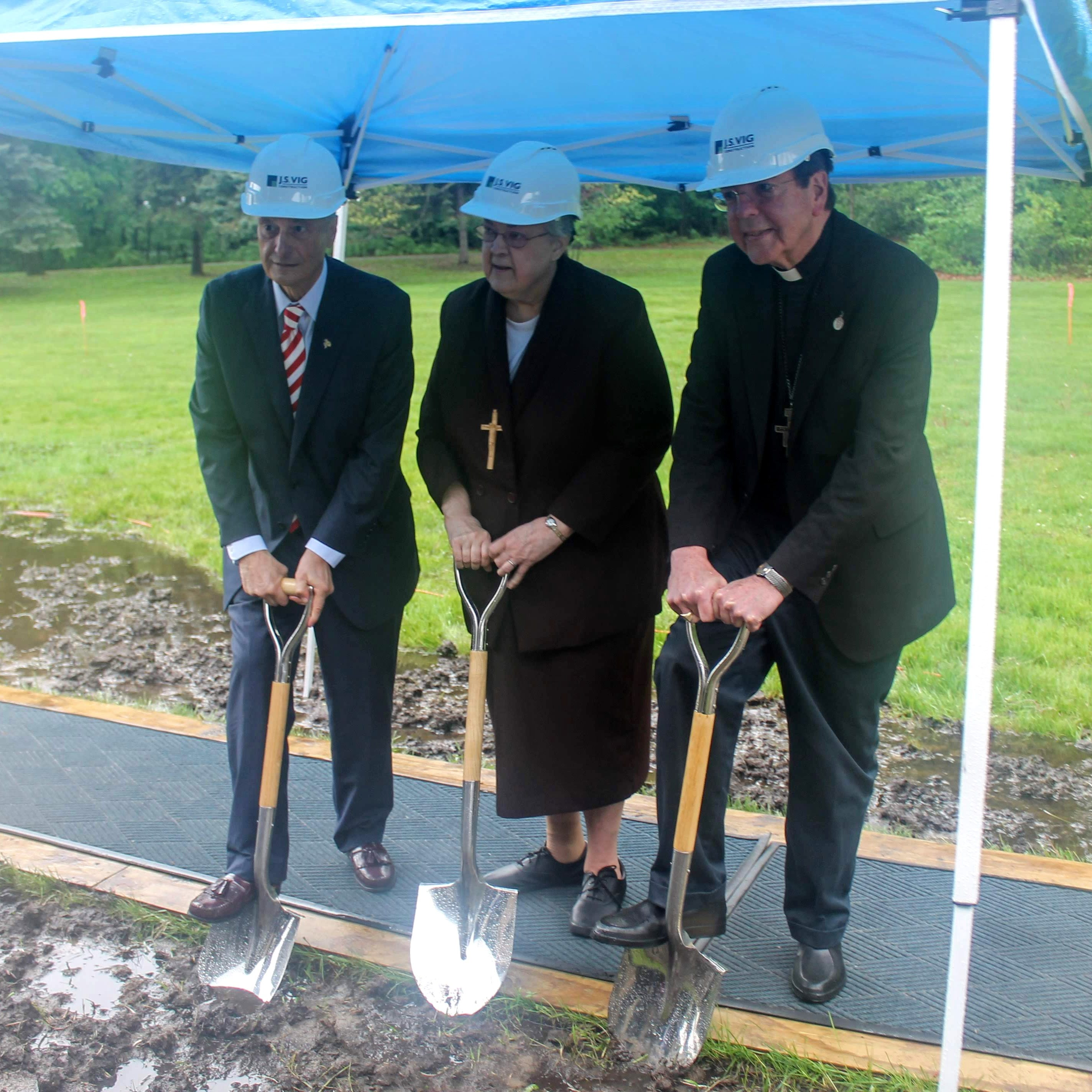 Madonna University breaks ground on new welcome center, Felician Sisters heritage center