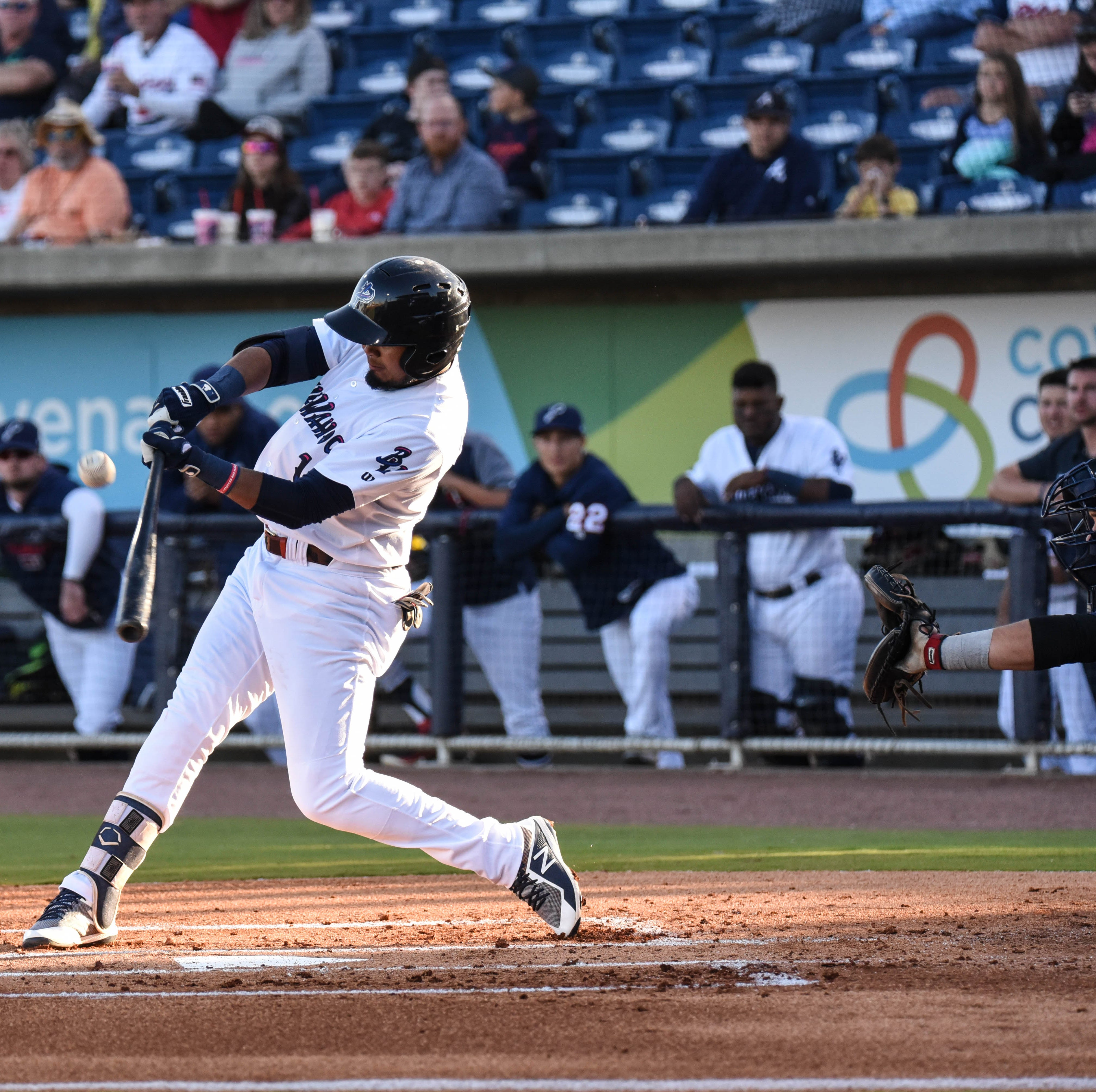 Luis Arraez rises to big leagues after stellar Blue Wahoos run