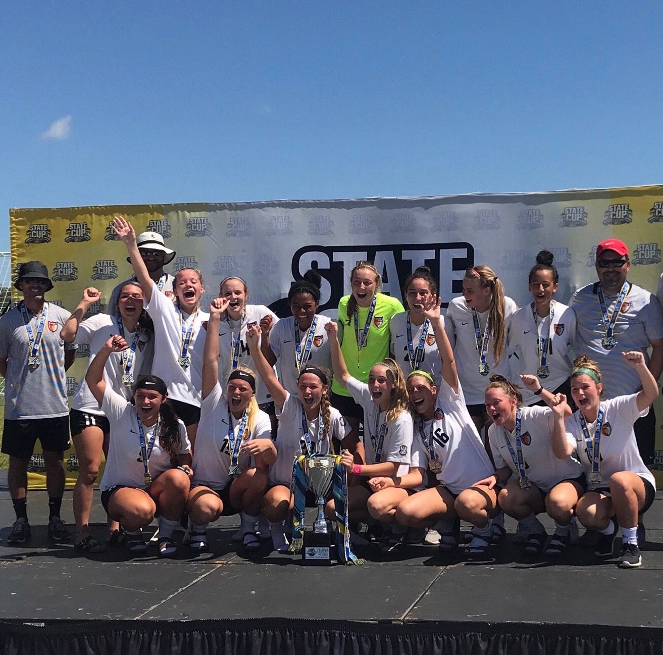 Gulf Coast Texans 00/01 team takes 2019 FYSA State Cup