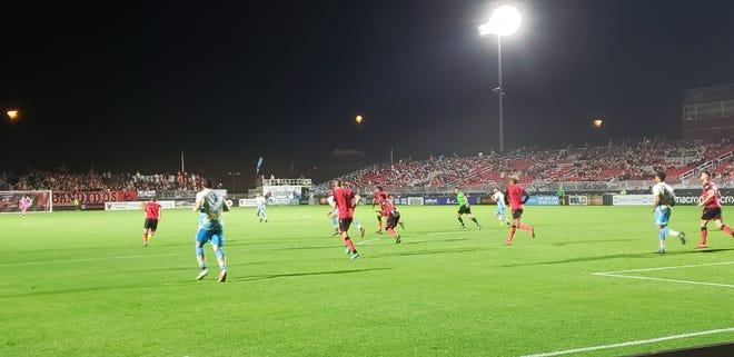 Phoenix Rising FC win 4-0 over Las Vegas Lights FC, Saturday, May 18.