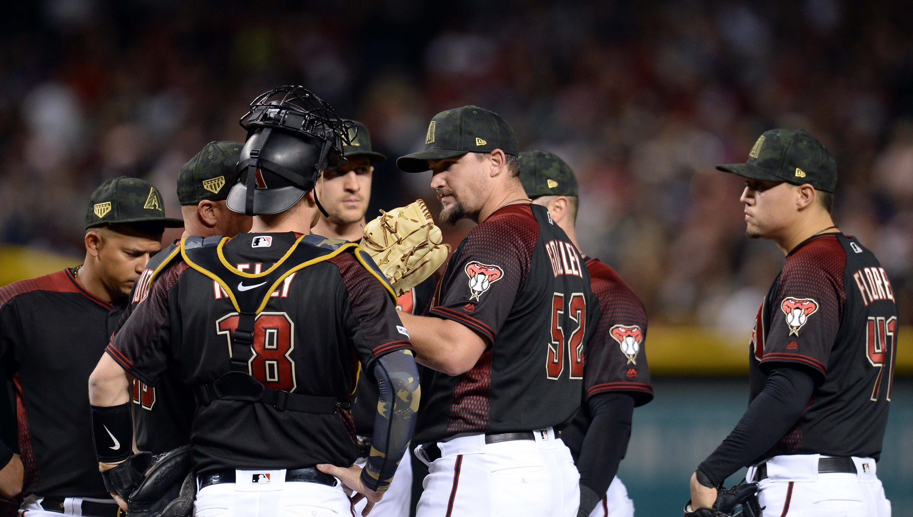 Zack Godley's Struggles Continue As Diamondbacks Fall To Giants