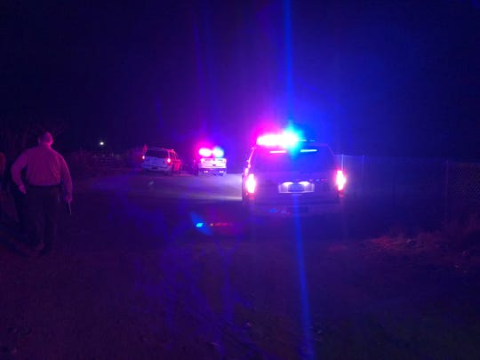 Pima County Sheriff's deputies investigate a fatal shooting south of Tucson on May 18, 2019.