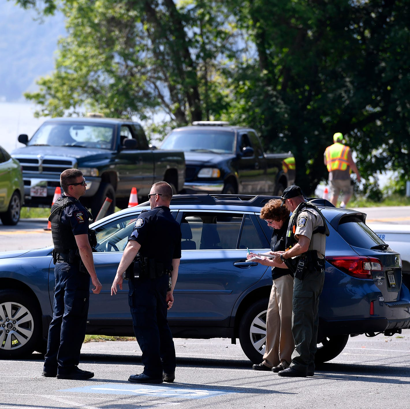 Lancaster County police and coroner are investigating the death of a person found in the Susquehanna River near Klines Run Park in Lower Windsor Township, Sunday, May 19, 2019. John A. Pavoncello photo