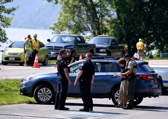 Lancaster County police and coroner are investigating the death of a person found in the Susquehanna River near Klines Run Park in Lower Windsor Township, Sunday, May 19, 2019. 