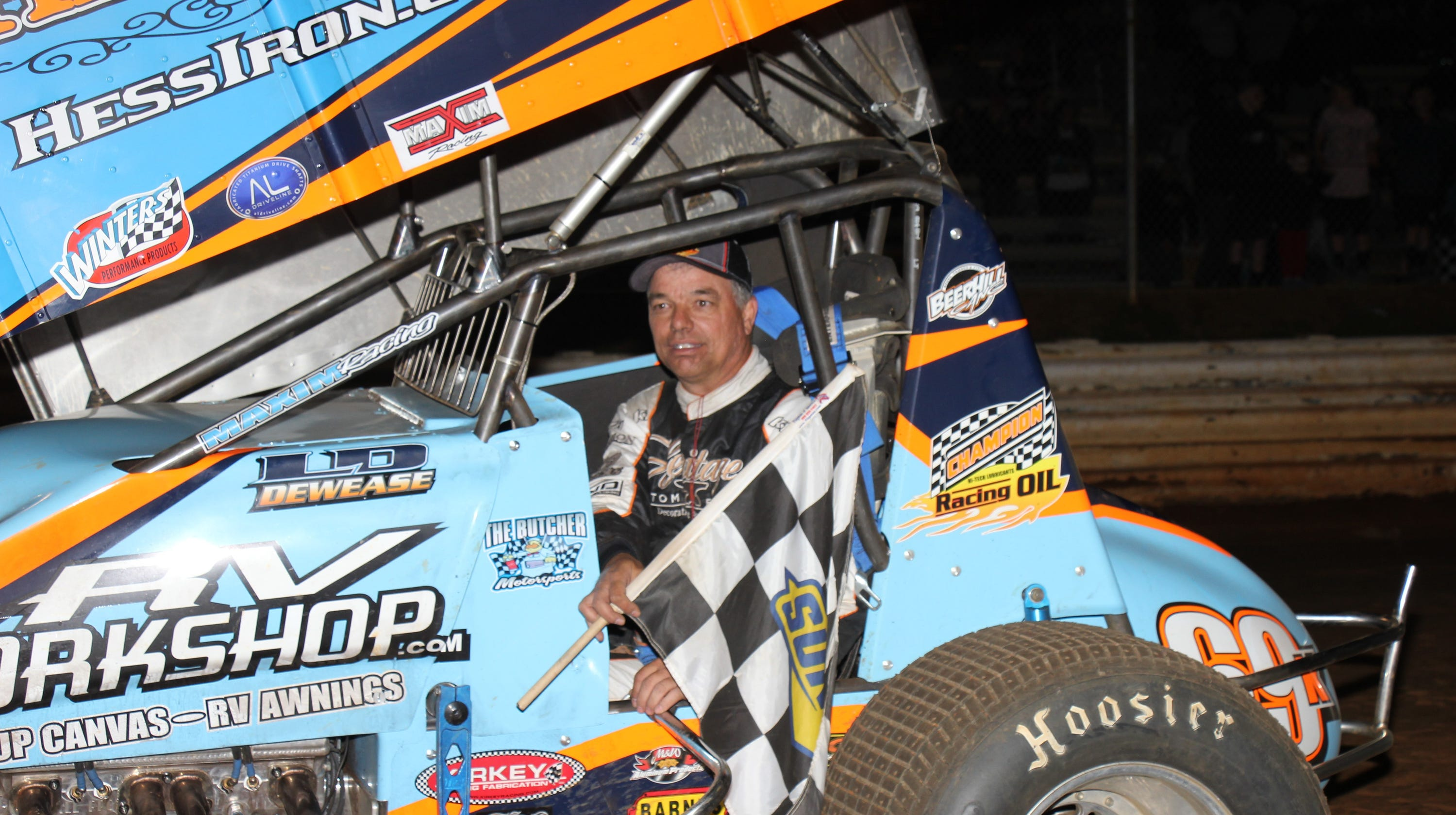 DIRT-TRACK RACING: Dewease Beats Outlaws, Wins $17,000 At