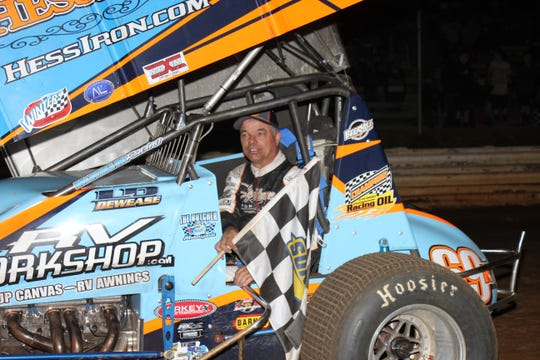 Lance Dewease enjoyed a big week on the local dirt tracks against the World of Outlaws.