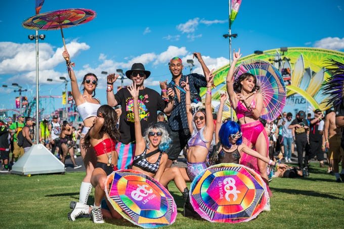Photo from Electric Daisy Carnival 2019 Day 1.