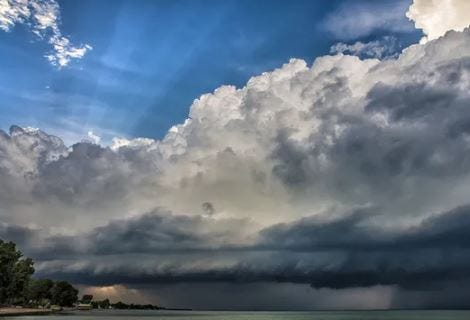 File photo of a thunderstorm rolling through Hilton.