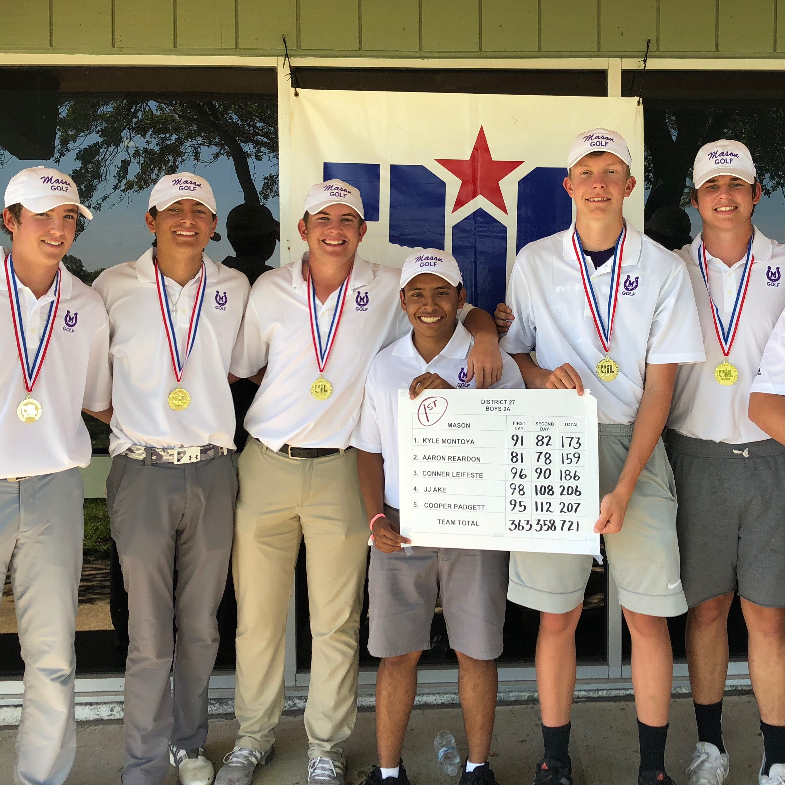 UIL STATE GOLF: Mason's Kyle Montoya is a busy Puncher