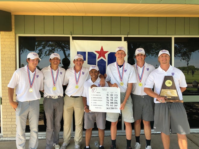 The Mason High School boys golf team won the Region IV-2A team championship in 2019 a year after placing second. The Punchers play in the UIL Class 2A State Boys Golf Tournament May 20-21 in Austin.