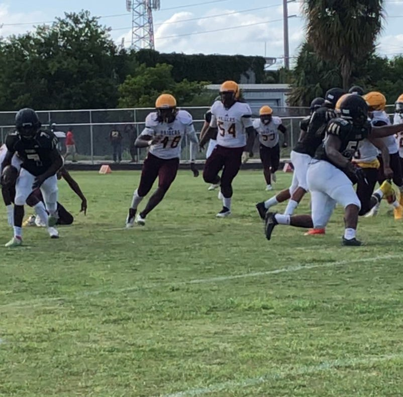 Treasure Coast wins both games at Spring Football Extravaganza