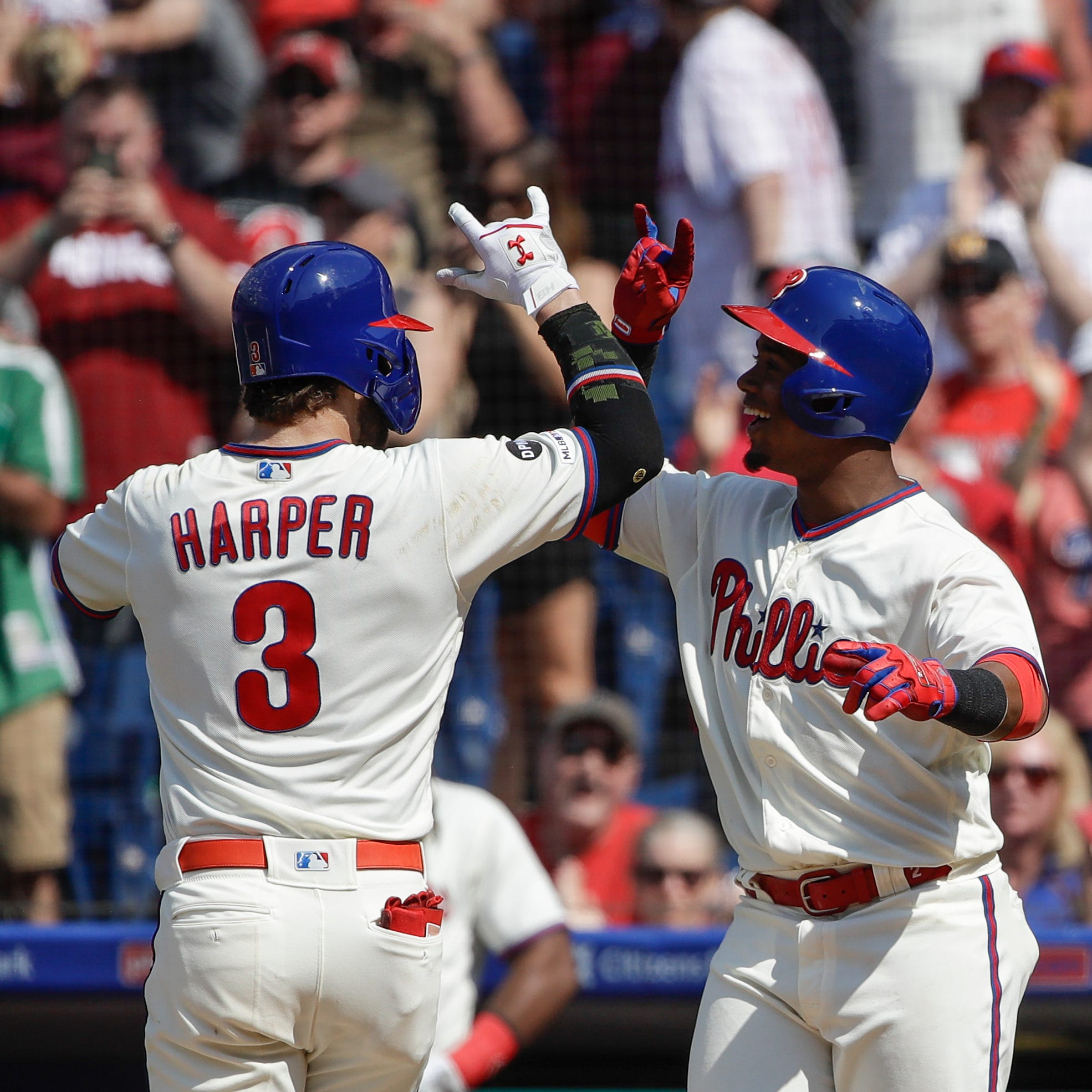 Bryce Harper does it again, powers Phillies for second straight game to sweep Rockies