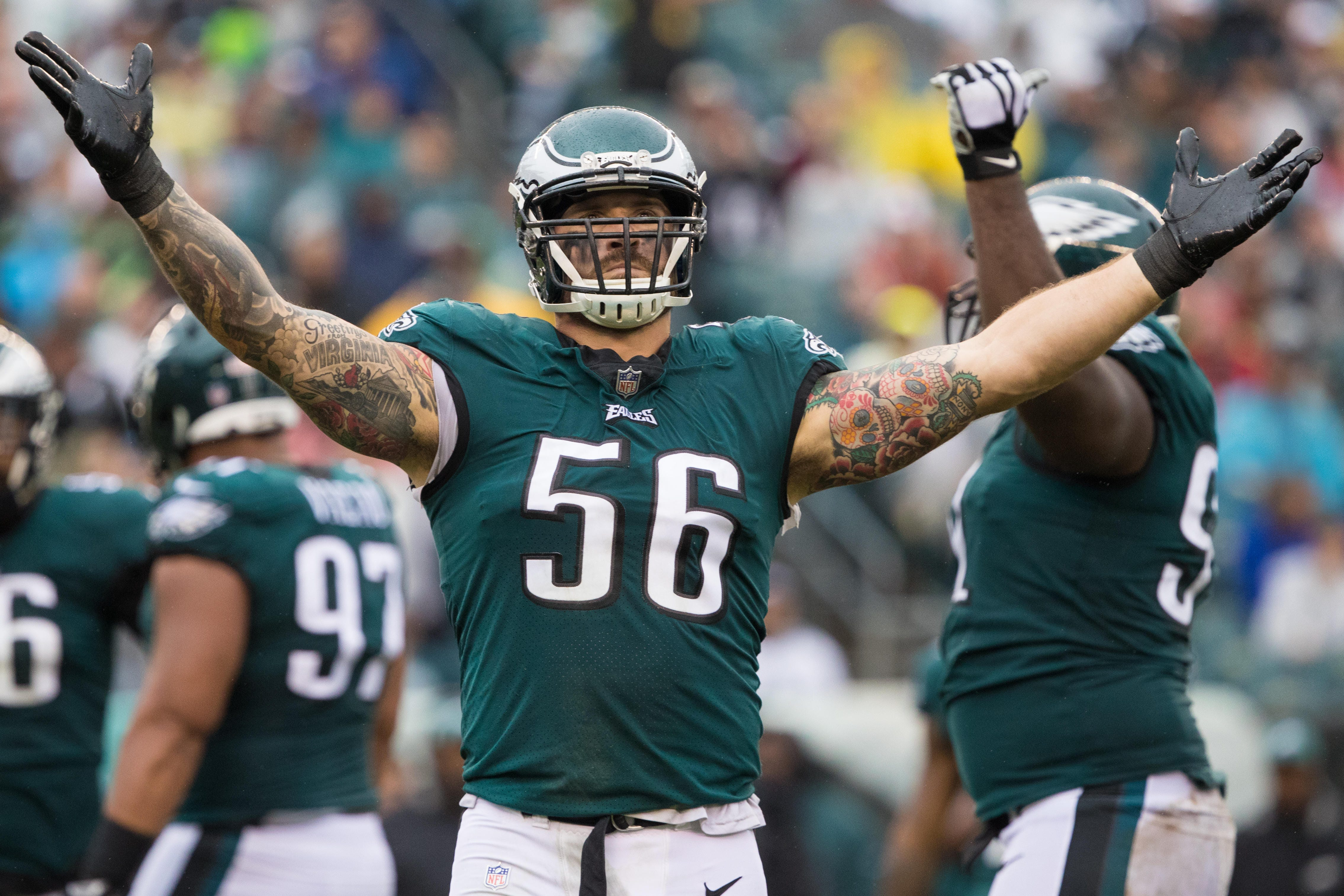 Philadelphia Eagles' Chris Long announces retirement from NFL in Twitter post