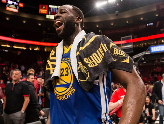 Draymond Green and the Warriors are one win away from their fifth consecutive NBA Finals appearance.
