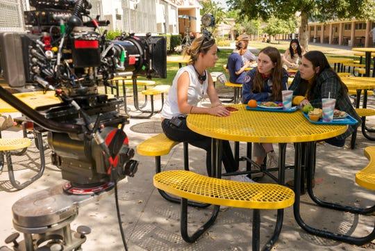 "Director Olivia Wilde encouraged actors Kaitlyn Dever and Beanie Feldstein to speak up on the set of ""Booksmart."""