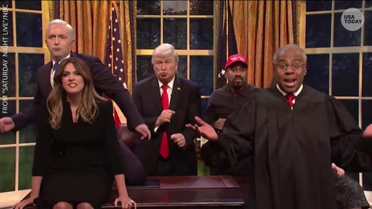 'SNL': Alec Baldwin's Trump sings Queen's 'Don't Stop Me Now' for the season's last cold open