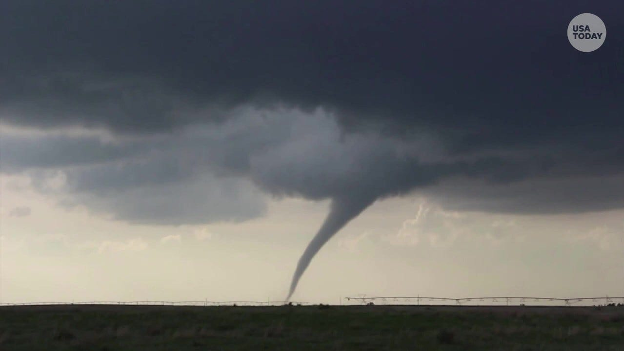 Tornado rips through Oklahoma