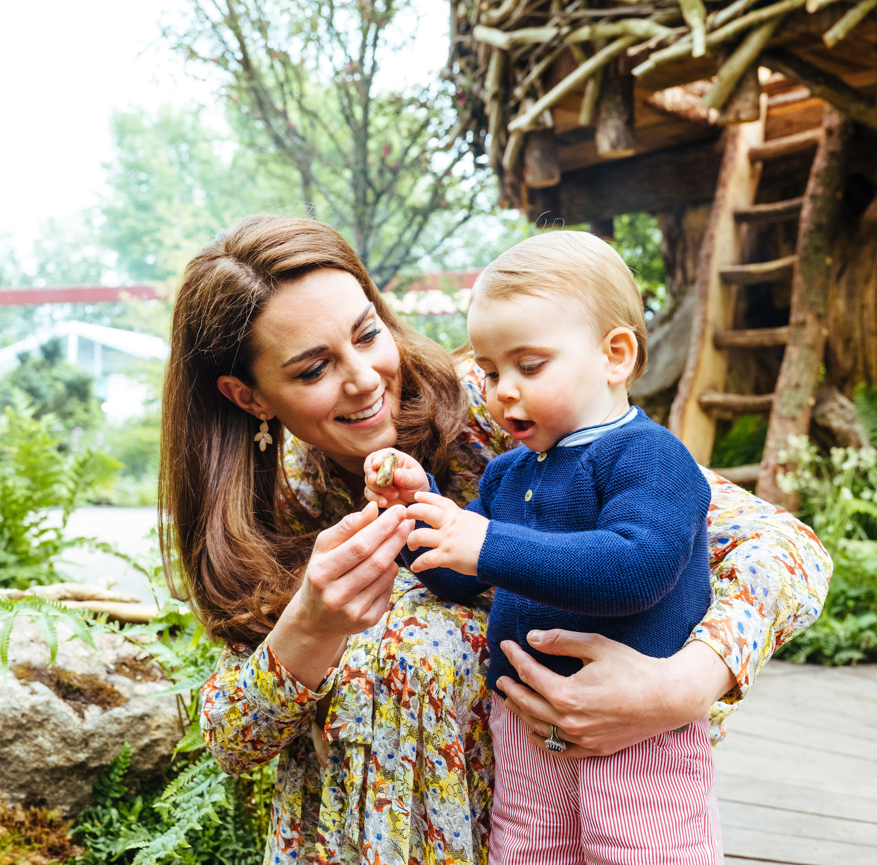 Prince George, Princess Charlotte and Prince Louis steal the show at Duchess Kate's garden