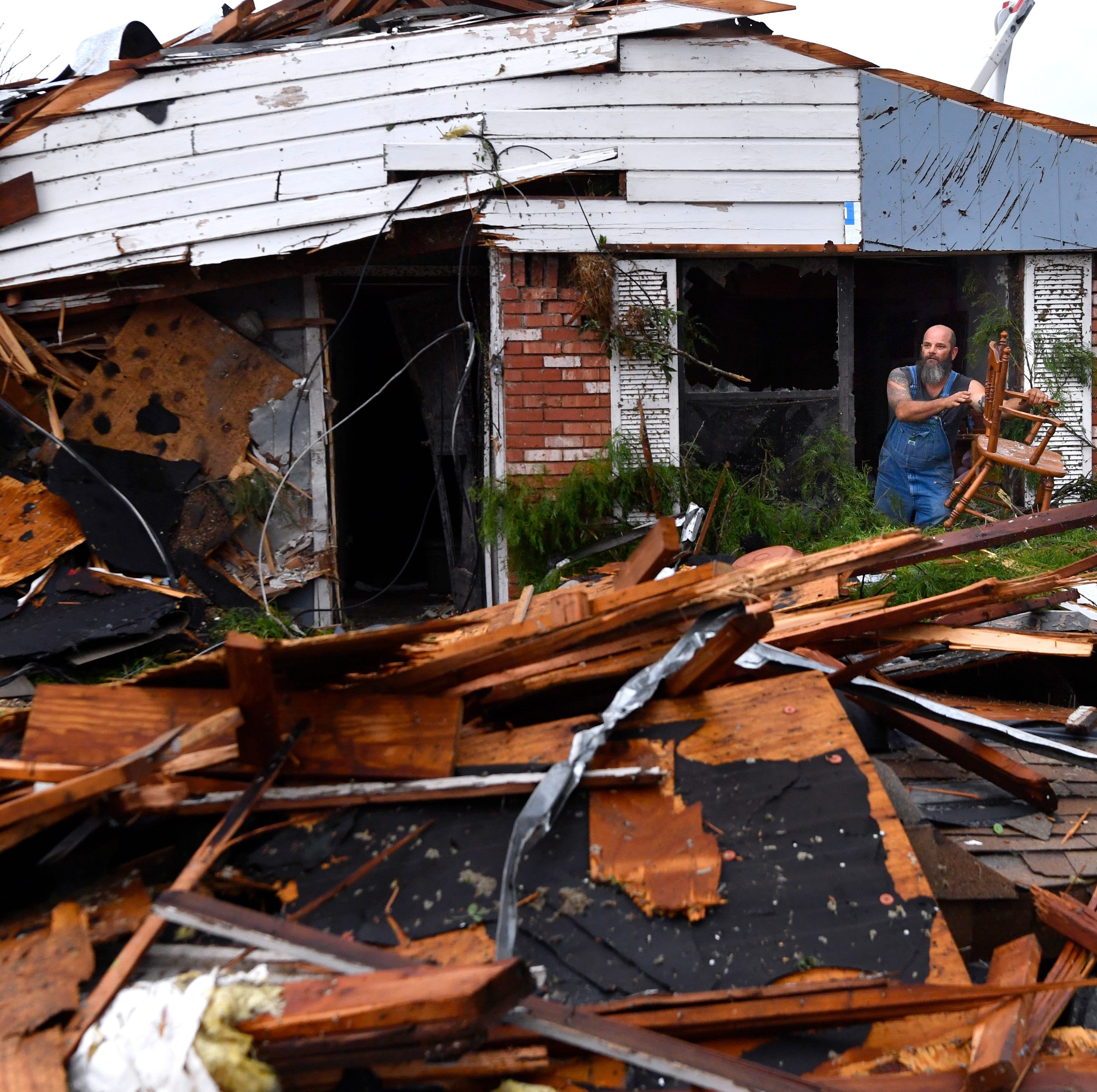 Tornadoes roar through nation: 'All the windows exploded, it was just chaos'