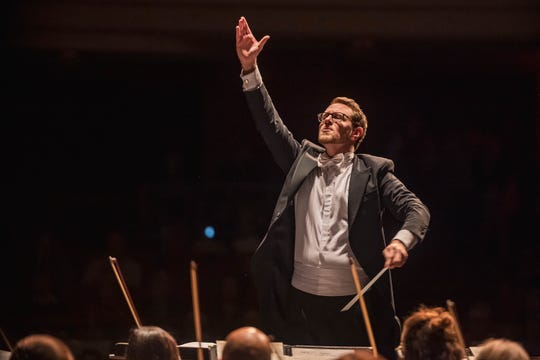 Kevin Sutterlin is the new director of the Fox Valley Symphony Orchestra.