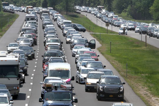 Thinking of getting out of town for Memorial Day? AAA says the best time to leave was ... last week.