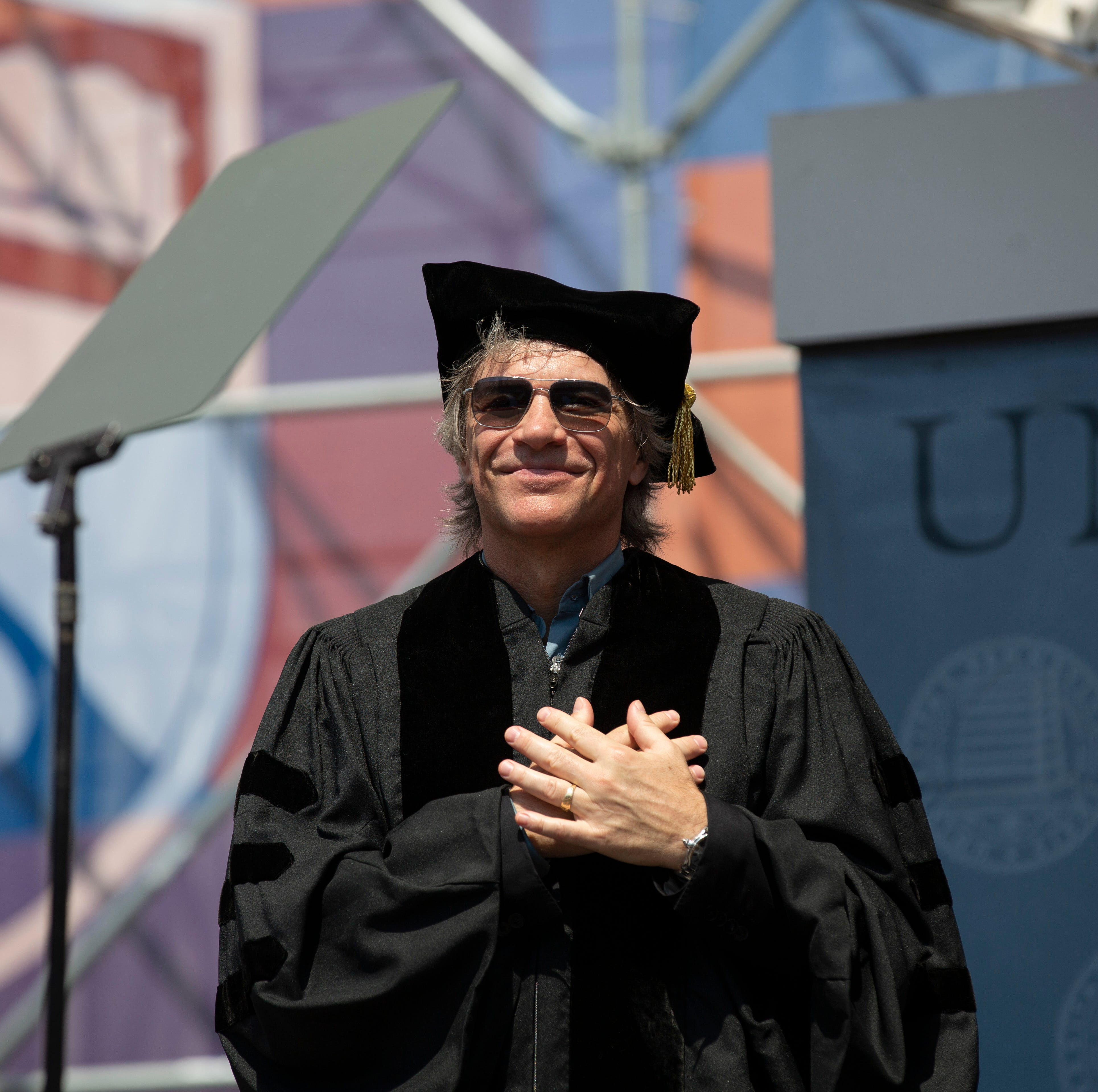 Jon Bon Jovi receives honorary Doctor of Music degree at Penn commencement SEE VIDEO