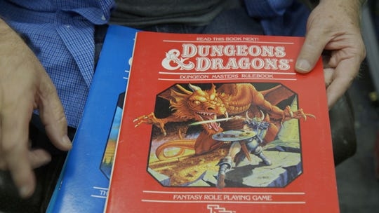 "Scenes from ""Eye of the Beholder: The Art of Dungeons & Dragons."""
