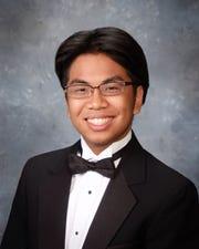 ABILENE WYLIE Aaron Ramos Valedictorian