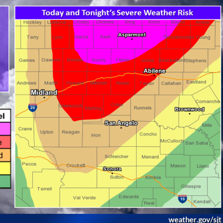 NWS: More severe weather, tornadoes possible in Abilene, Big Country